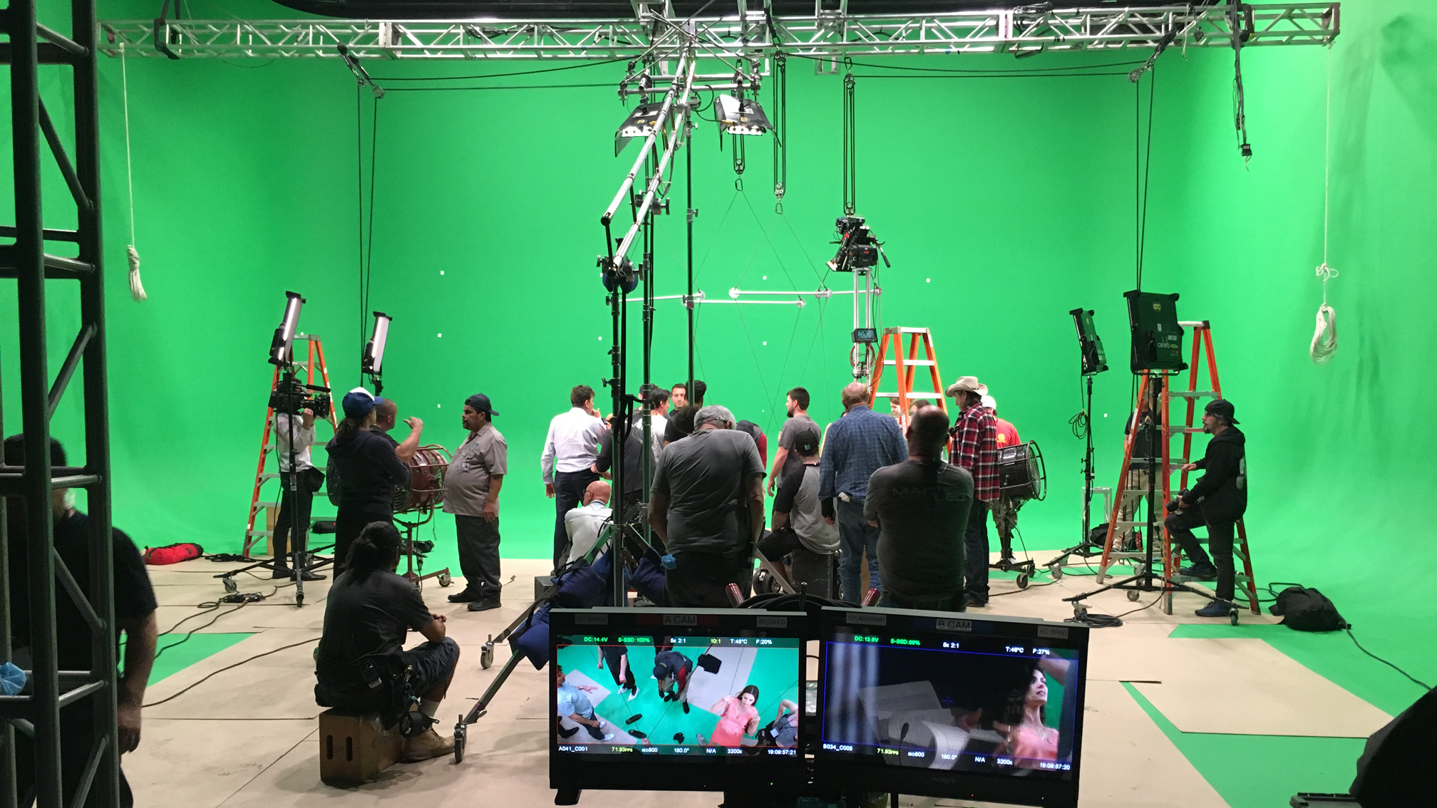 Stage 11 Thunder Studios Wire Harness Space From Feature Films To National Campaigns This Has Seen Everything High Stunts Award Winning Vr Executions